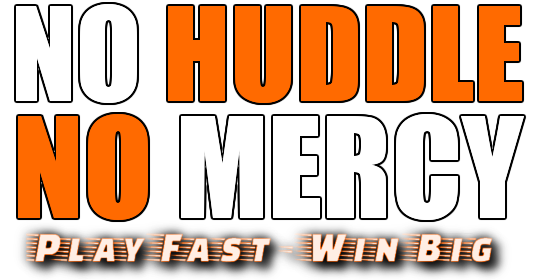 No Huddle No Mercy Logo